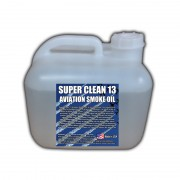 Super*Clean 13 Aviation Smoke Oil - Exact Spec Match to: Texaco Canopus 13 and Shell Vitrea 13 - 2.5 Gallon Square